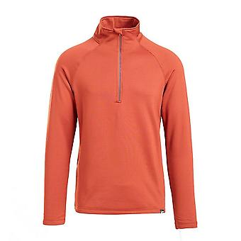 North Ridge Men's Coordinate 1/2 Zip Fleece Red