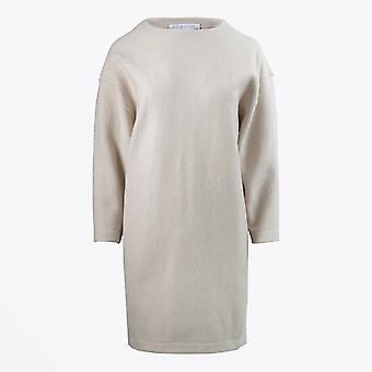 Harris Wharf - Robe en laine surdimensionnée - Crème/Beige