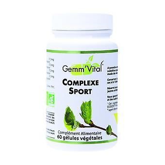 Bio Sport Complex - Gemmotherapy 60 grönsakskapslar