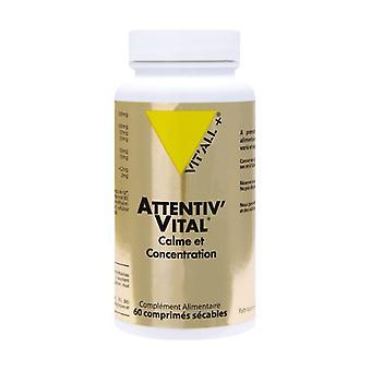 Attentiv'Vital Calme et Concentration 60 tablets