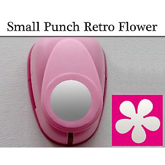 16mm Small Retro Flower Lever Action Craft Punch| Papercraft Punches