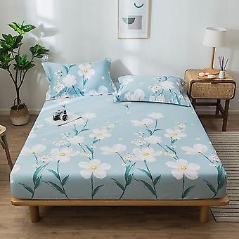 Fashion Printing Fitted Soft Cozy Bed Sheet And Pillowcase