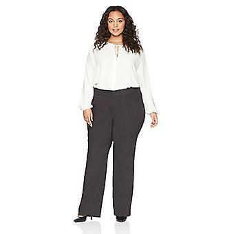 Brand - Lark & Ro Women's Plus Size Bootcut Trouser Pant: Curvy Fit, C...