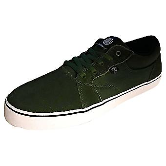 Element Wasso Mens Skate Trainers in Green White