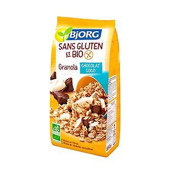 Granola Chocolate Coconut gluteeniton 350 g (Suklaa - Kookospähkinä)