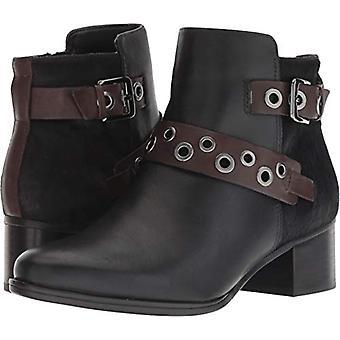 Naturalizador mujer Drea tela puntiaguda tobillo de punta botas de moda