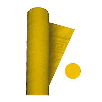 Αραβόσιτος κίτρινο catering Damask Συμπόσιο / Τραπέζι Roll - 1,2 x 7m Κόμμα Διακόσμηση