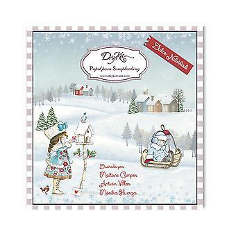 DayKa Trade Dulce Navidad 8x8 Inch Paper Pad