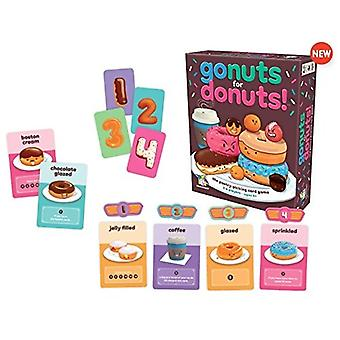 Games - Ceaco Gamewright - Go Nuts for Donuts New 111