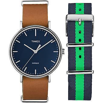 TWG016300, Fairfield Originals Vintage Unisex Uhr / blau