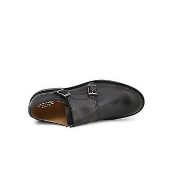 Madrid - Shoes - Slipper - 600_PELLE_NERO - Men - Schwartz - EU 40