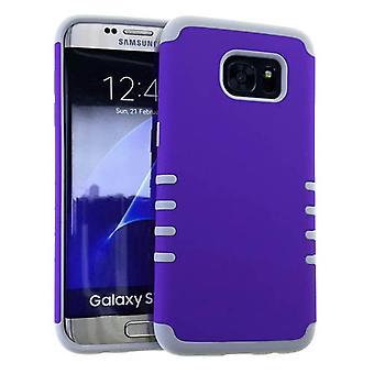 rocker sarja ohut suojelija tapauksessa Galaxy S7 edge (kumilla violetti)