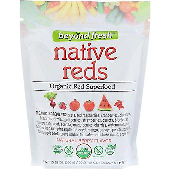 Beyond Fresh, Native Reds, Organic Red Superfood, Natural Berry Flavor, 10.58 oz
