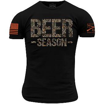 Grunt Style Realtree Edge - Beer Season t-paita - musta