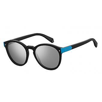 نظارات شمسية للجنسين 6034/S003/EX أسود/فضة