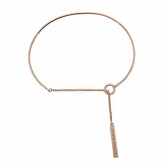 Olivia Burton Watches Obj16enb08 Engraveable Drop Bar Bracelet Rose Gold