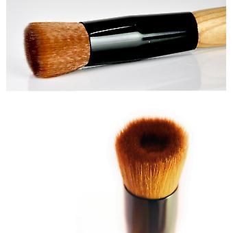 Kabuki Style Flat Angled Face Foundation Makeup Brush