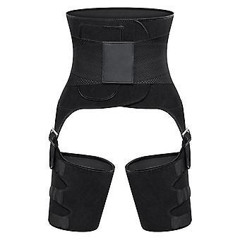 Cinturón elevador 3 en 1 para cintura, cadera y pierna, Stl M - Negro