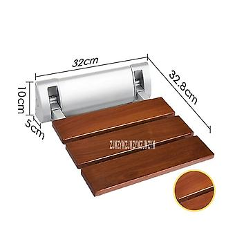 Strengthen Solid Wood Bath Shower Folding Seat