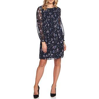 CeCe | Smocked Floral Babydoll Dress