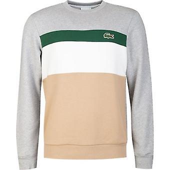 Lacoste Sport Large Croc Colour Block Sweatshirt
