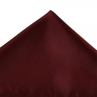 Kravaty Planet Plain Burgundsko Červené vreckové námestie vreckovku