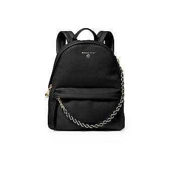 MICHAEL KORS SLATER MEDIUM BLACK BACKPACK
