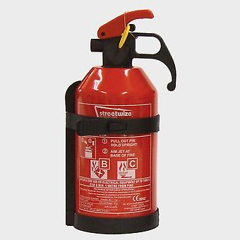 Nuovo Streetwize 1Kg Dry Powder Fire Extinguisher Naturale