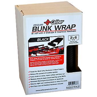 """Caliber 23052-BK Bunkwrap Kit Black (16'X2X6"""" w/End Caps)"""