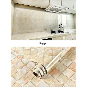 Marble Vinyl Self Adhesive Waterproof Wallpaper For Bathroom Kitchen