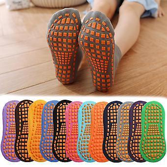 Kids, Adults Anti-slip Sock, Cotton Breathable, Short Socks For Boy Girl