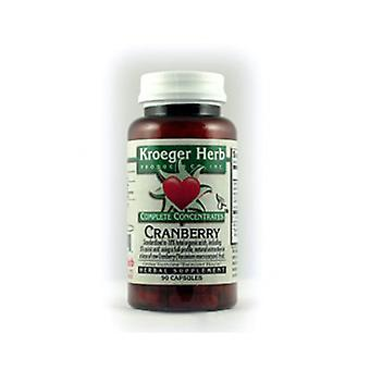 Kroeger Herb Cranberry, 90 CAPS