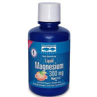 Oligo minéraux magnésium liquide, 300 mg, échantillon 2 oz