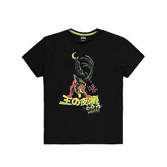 Men's Disney Lion King Arpi Hahmo Musta T-paita