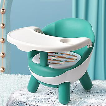 Kids Dining Chair With Plate Baby Eating Table Chair Dining Plastic Stool