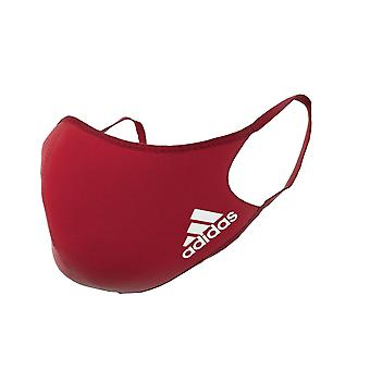 adidas Face Mask Cover Protection Rosso M/L (3 Pack)