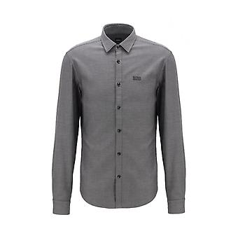 Hugo Boss Brod_s Slim Fit Black/grey Shirt