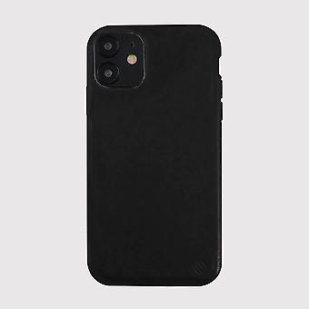 Eco Friendly Leather Black iPhone 12 Case