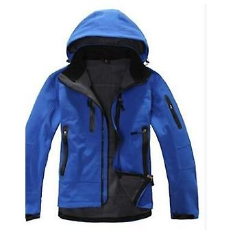Men Waterproof Fleece Snow Jacket - Thermal Coat For Outdoor Mountain Skiing