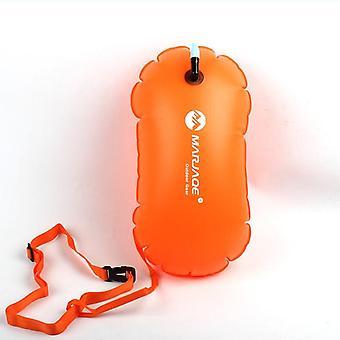 Verdikt zwemboei Enkele Pvc Airbag Waterdicht opblaasbaar zwemmen