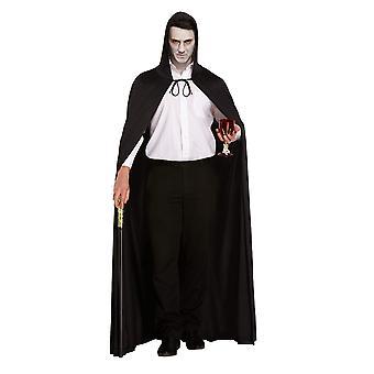Henbrandt hosszú fekete köpeny kapucnival (felnőtt/egy méret) 1 többszínű