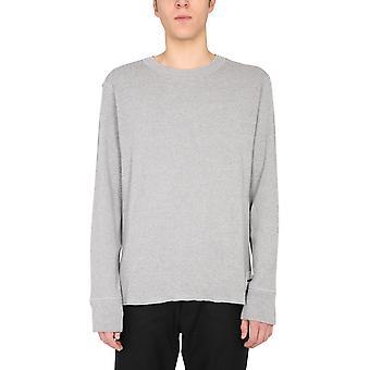Jil Sander Jpur707515mr248408034 Men's Grey Cotton Sweater