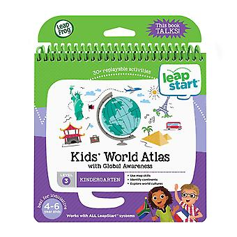 Leapfrog 21606 leapstart mottagning barn världen atlas och global medvetenhet aktivitet bok kids' världen en