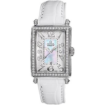 Gevril Women's 7249NV Mini Quartz Avenue of Americas Diamond Watch