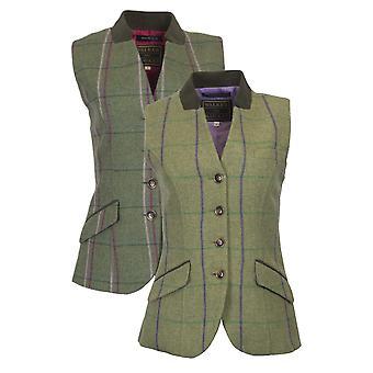 Walker ja Hawkes - Naiset Tweed Margate Waistcoat Selkävyö