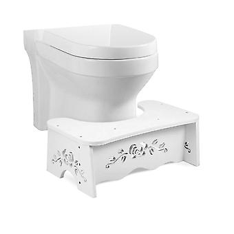 Squat Toilet Stool 7 Inch Toilet Stool Non-slip Pad Bathroom Helper Assistant