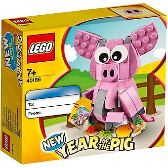 LEGO 40186 året for grisen