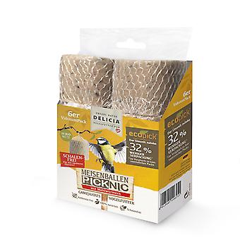 FRUNOL DELICIA® Delicia® bales Picknic with mealworms in the net, 6 pieces