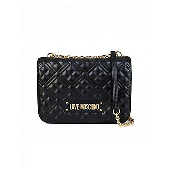 Love Moschino Classic Logo Quilted Shoulder Bag