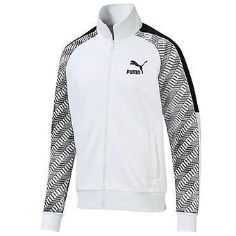 Puma T7 All Over Print Mens Track Jacket Zip Up Jumper 595267 02